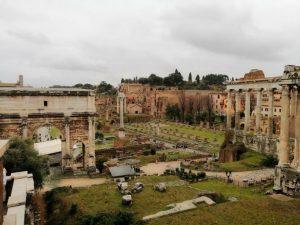 Roma Florencia y Milán